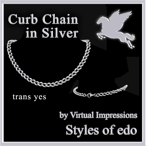 Curb-Chain-in-Silver-poster
